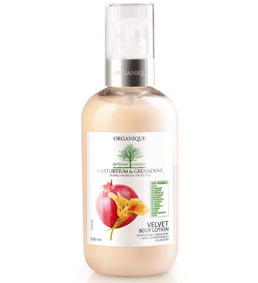 nasturium grenadine velvet body lotion